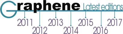 Graphene 2018 – June 26-29 (Dresden, Germany)