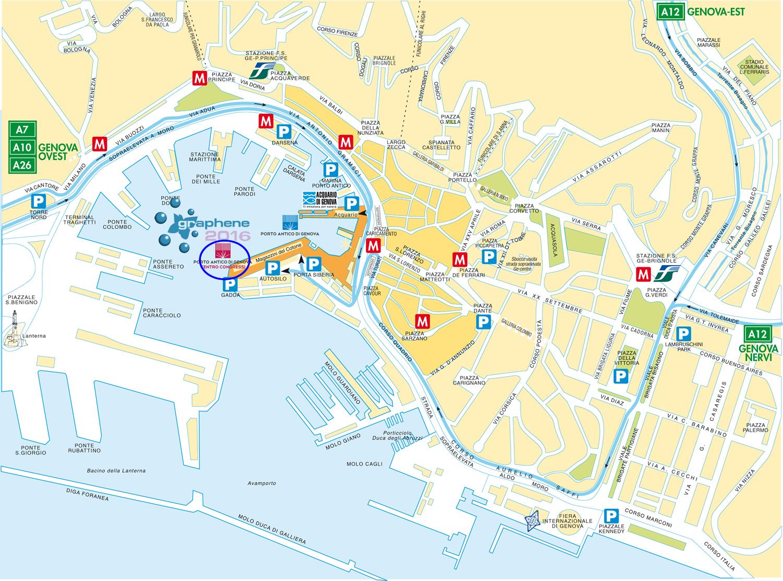 Graphene April Genova Italy - Italy map genoa